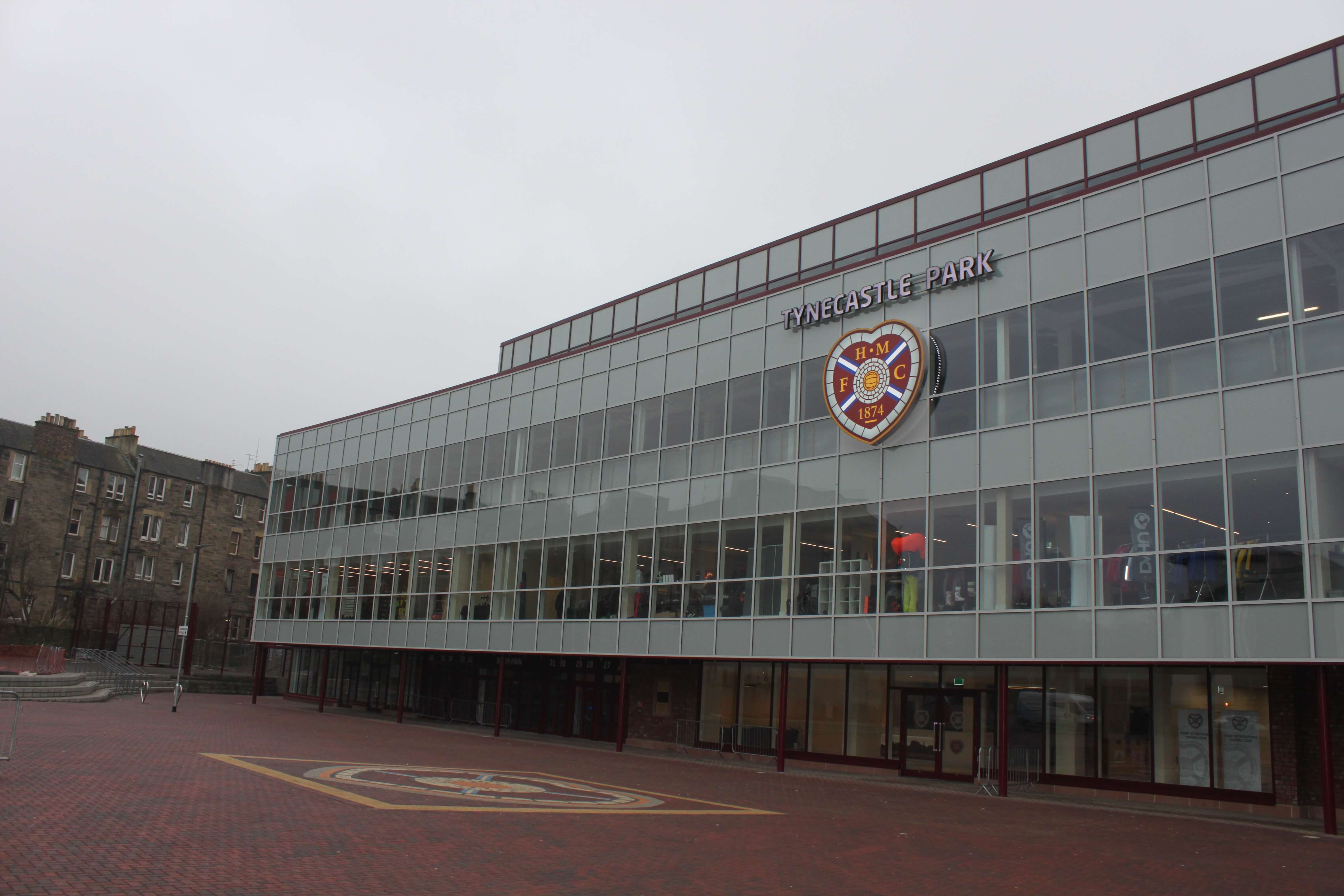 Hearts FC Stand